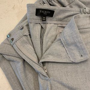 Talbots Gray Dress Pants